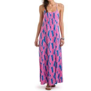 *NWT* Vineyard Vines Palm Print Maxi Dress